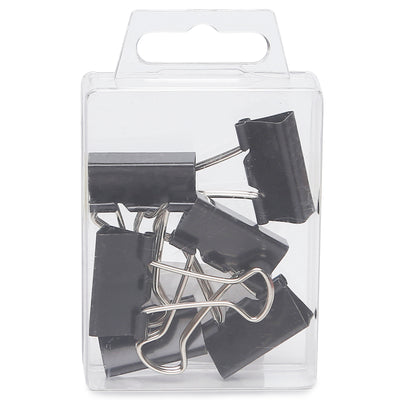Binder Clips Black- 25mm, 6pc