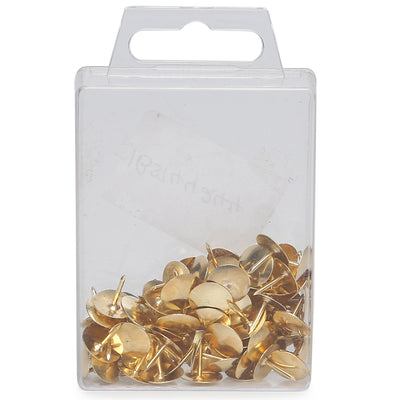Drawing Pins Gold - 1cm, 80pc