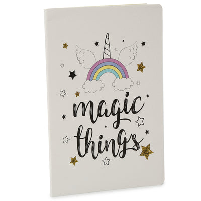 Soft Bound Notebook - Magic Things, A5 64 Ruled Pages, 1pc