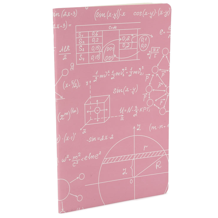 Soft Bound Notebook - New Ideas, A5 64 Ruled Pages, 1pc