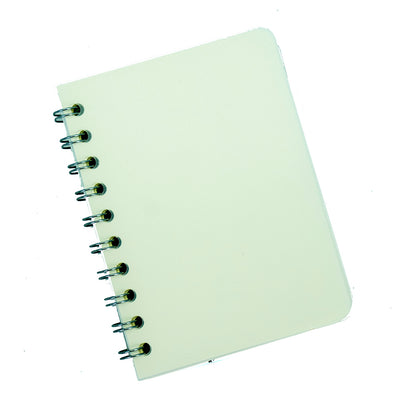 Spiral Bound Notebook With String Closure - 21X13, 160 Pages, 1Book