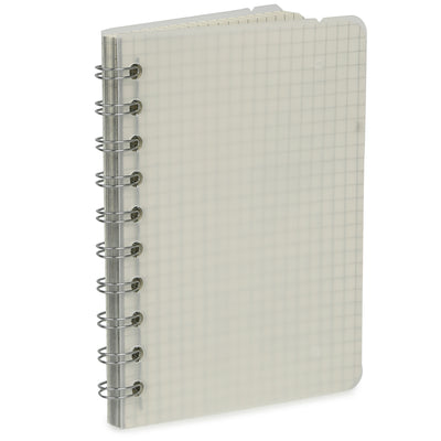 Spiral Bound Notebook with String Closure - Grid, B5, 160 Pages, 1pc