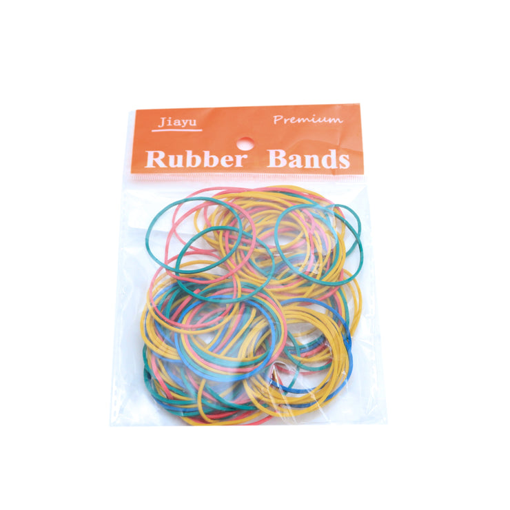 Rubber Band - 30g, Assorted Colour, 38mm Diameter, 1 pack