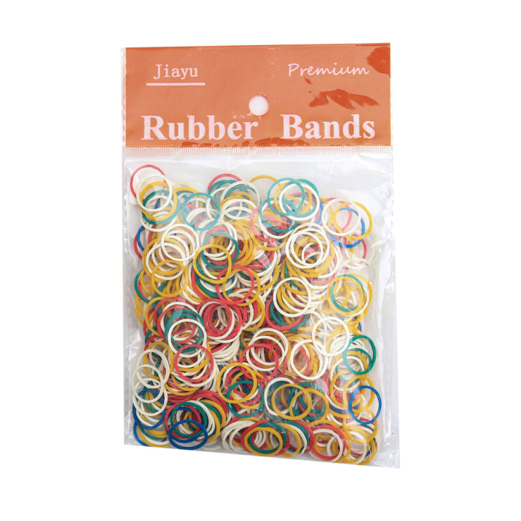 Rubber Band - 30g, Assorted Colour, 15mm Diameter, 1 pack