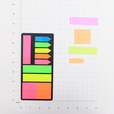 Planner Sticky Notes -  Neon, 1 Pack