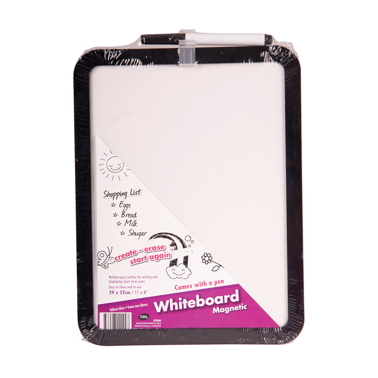 Magnetic Whiteboard and Pen - 21xx28 cm