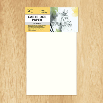 Cartridge Paper- A4 size, 15 sheets