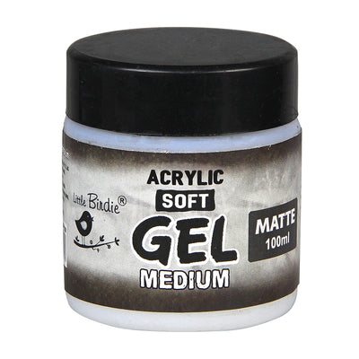 Acrylic Soft Gel Medium 100 ml- Matte