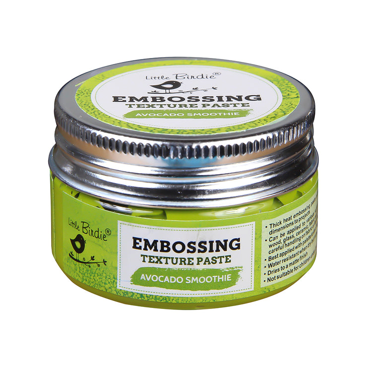 Embossing Texture Paste 50gm - Avocado Smoothie