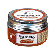 Embossing Texture Paste 50gm - Caramel Syrup