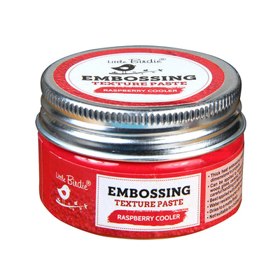 Embossing Texture Paste 50gm - Raspberry Cooler