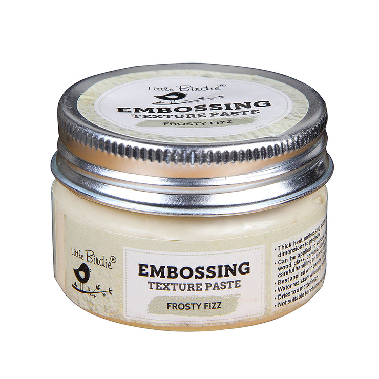 Embossing Texture Paste 50gm - Frosty Fizz