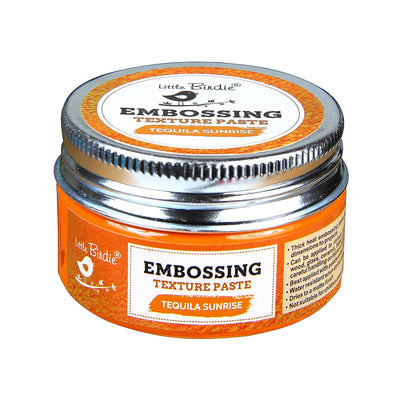 Embossing Texture Paste 50gm - Tequila Sunrise