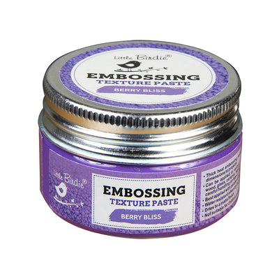 Embossing Texture Paste, 50gm - Berry Bliss