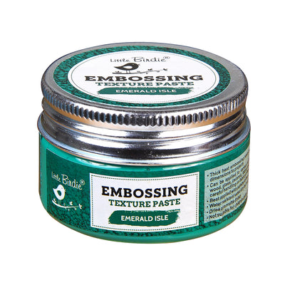 Embossing Texture Paste 50gm - Emerald Isle