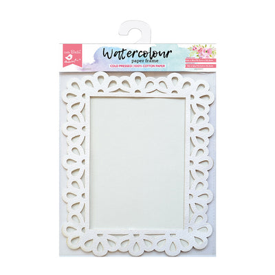 Watercolour Paper Frame - Droplet, 6x8 Inch, 1pc