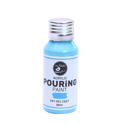 Acrylic Pouring Paint 60 ml - Sky Delight