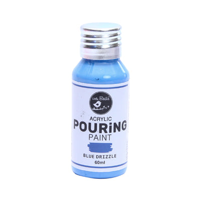 Acrylic Pouring Paint 60 ml - Blue Drizzle