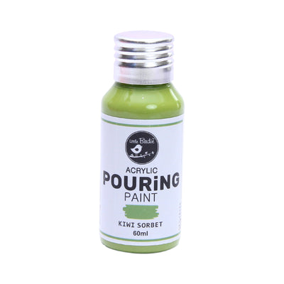 Acrylic Pouring Paint 60 ml - Kiwi Sorbet
