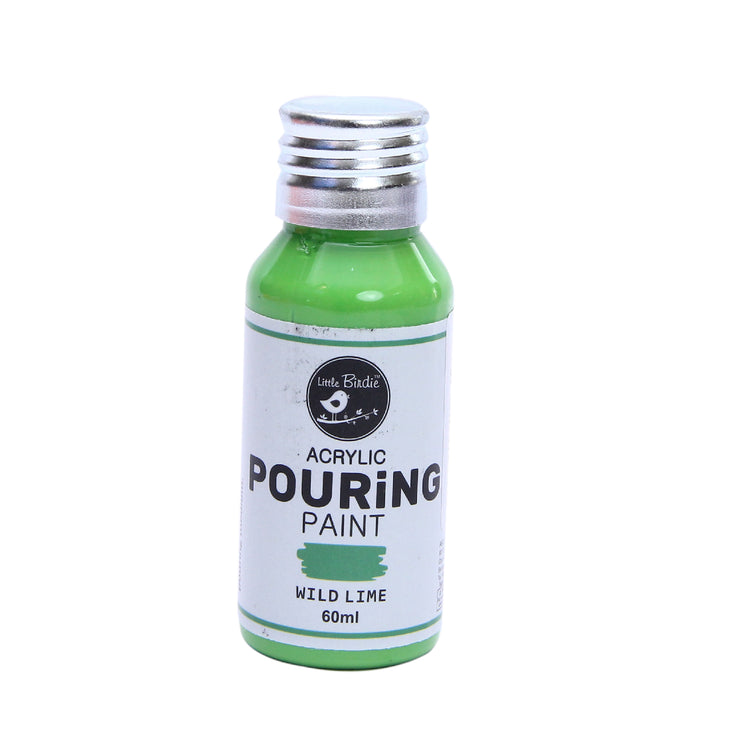 Acrylic Pouring Paint 60 ml - Wild Lime