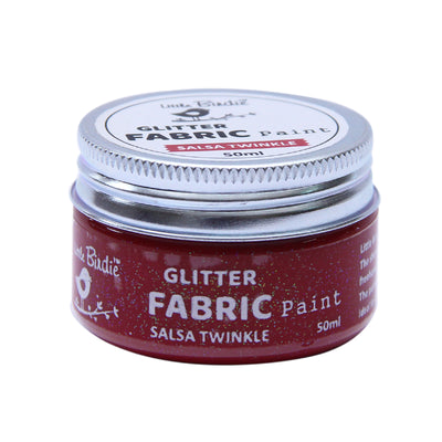 Glitter Fabric Paint - Salsa Twinkle 50ml, 1pc