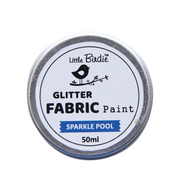 Glitter Fabric Paint - Sparkle Pool 50ml, 1pc