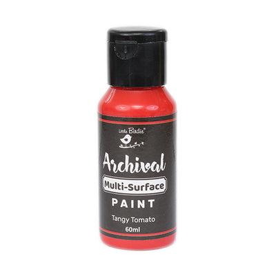 Archival Multi-Surface Paint 60ml- Tangy Tomato, 1Pc