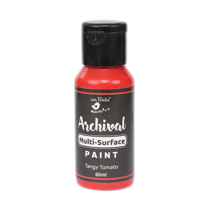 Archival Multi-Surface Paint, 60ml - Tangy Tomato