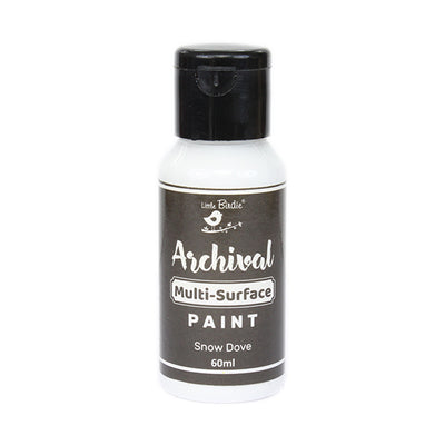 Archival Multi-Surface Paint 60ml- Snow Dove, 1Pc