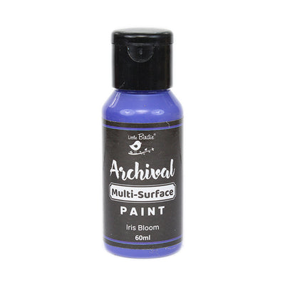Archival Multi-Surface Paint 60ml- Iris Bloom, 1Pc