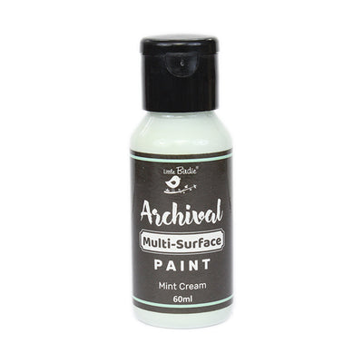 Archival Multi-Surface Paint 60ml- Mint Cream, 1Pc