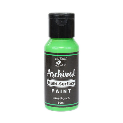 Archival Multi-Surface Paint 60ml- Lime Punch, 1Pc