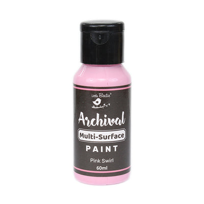 Archival Multi-Surface Paint 60ml- Pink Swirl, 1Pc