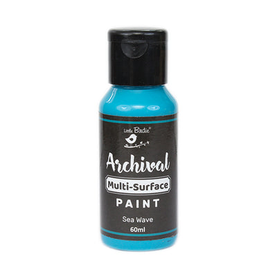 Archival Multi-Surface Paint 60ml- Sea Wave, 1Pc