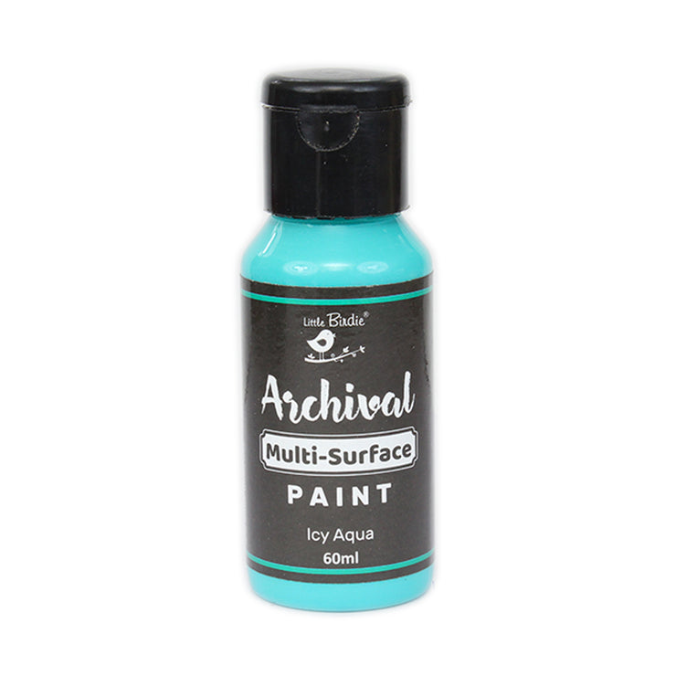 Archival Multi-Surface Paint 60ml- Icy Aqua, 1Pc