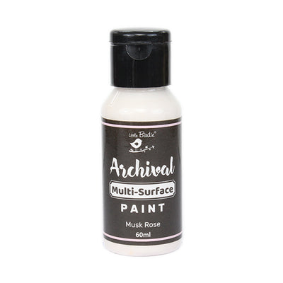 Archival Multi-Surface Paint 60ml- Musk Rose, 1Pc