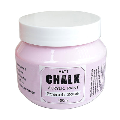 Home Decor Chalk Paint  450ml  - French Rose