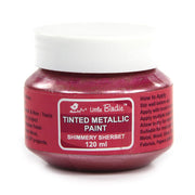 Tinted Metallic Paint 120ml -Shimmery Sherbet