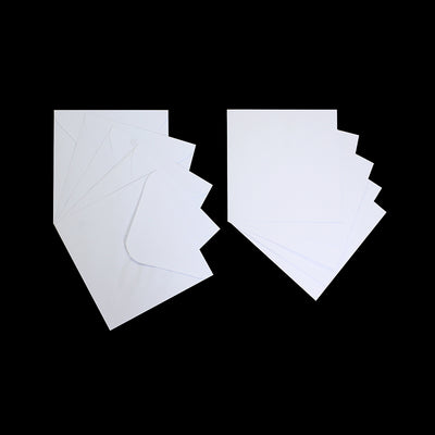 5 Cards and 5 Envelopes - Cardstock