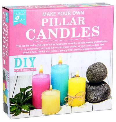 Make your own Pillar Candle Kit 1 Box
