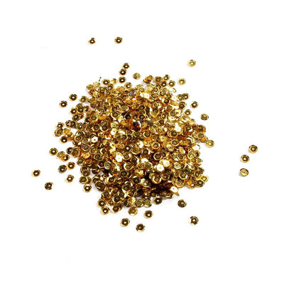 Sequins - Gold 6mm, 10gm