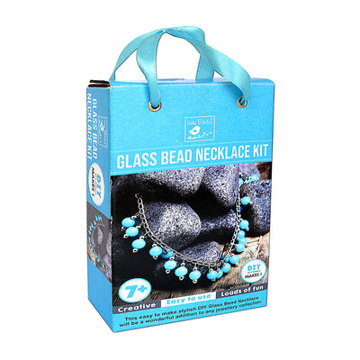 DIY Kit, Glass Bead Necklace, 1 Pack