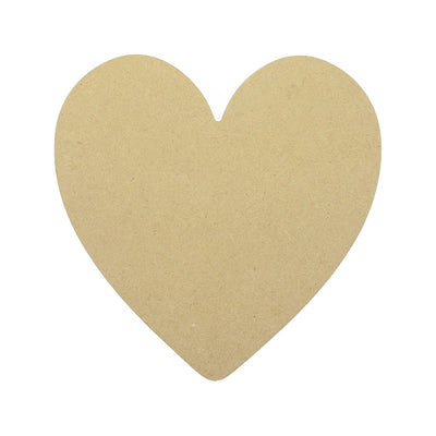 Wooden Decorable 10x10inch, 1pc - Heart