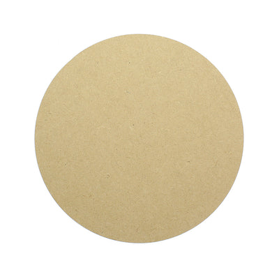 Wooden Decorable 8x8inch, 1pc - Circle