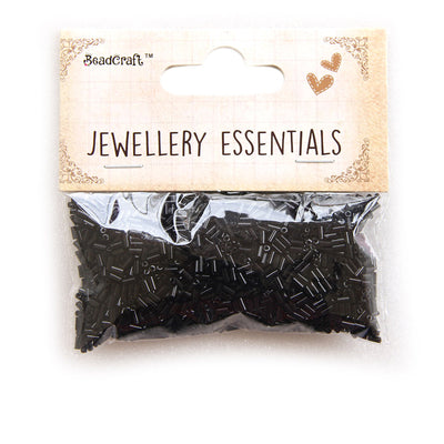 Bugle Beads 30gm - Black