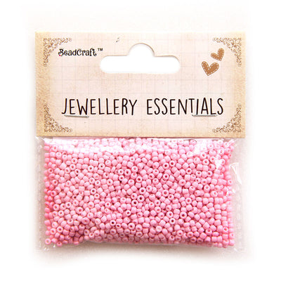 Seed Beads 2mm,30gm - Pink