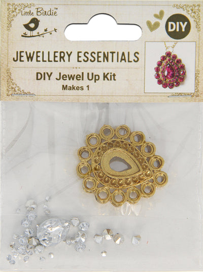 DIY Pendant with Crystals 1 Set - Aahini, Sparkle