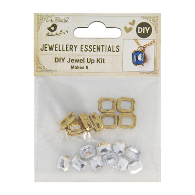DIY Pendant with Crystals 1 Set - Kanti, Sparkle