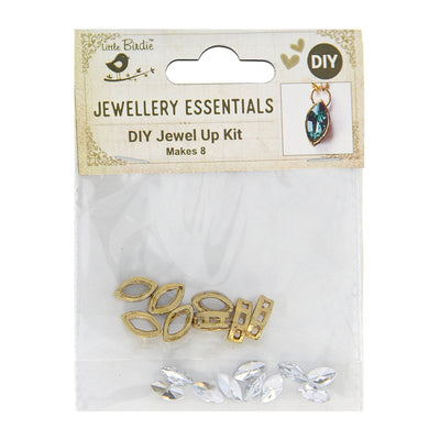 DIY Pendant with Crystals 1 Set - Varsha, Sparkle