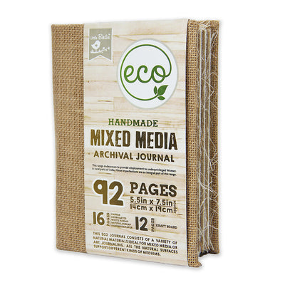 Mixed Media Archival Journal - 5.5x7.5inch, 92pages, 1pc